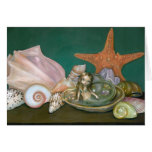 """Still Life With A Mermaid"" Greeting Card"