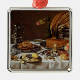 Still Life with a Peacock Pie, 1627 Metal Ornament