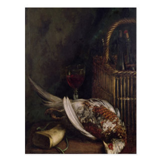 Still Life with a Pheasant c 1861 Post Card