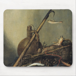 Still Life with a Pitcher and Crustaceans Mouse Pad