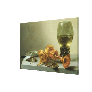 Still Life with a Roemer Canvas Print