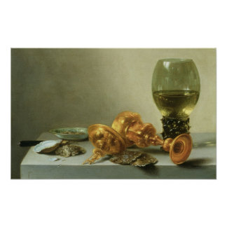 Still Life with a Roemer Poster
