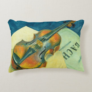Still Life with a Violin, 1921 Accent Pillow