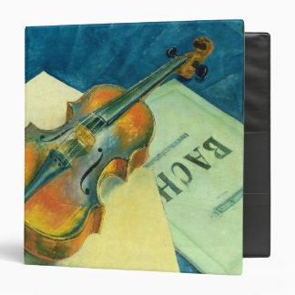 Still Life with a Violin, 1921 Binder