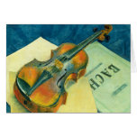Still Life with a Violin, 1921 Card