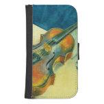 Still Life with a Violin, 1921 Galaxy S4 Wallet Case