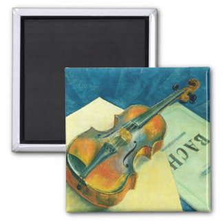 Still Life with a Violin, 1921 Magnet