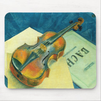 Still Life with a Violin, 1921 Mouse Pad