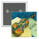Still Life with a Violin, 1921 Pins