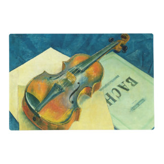 Still Life with a Violin, 1921 Placemat