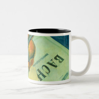 Still Life with a Violin, 1921 Two-Tone Coffee Mug