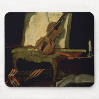Still Life with a Violin Mouse Pad