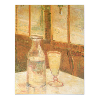 Still Life with Absinthe by Vincent van Gogh Custom Announcement