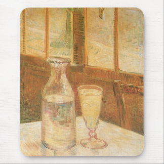 Still Life with Absinthe by Vincent van Gogh Mouse Pad
