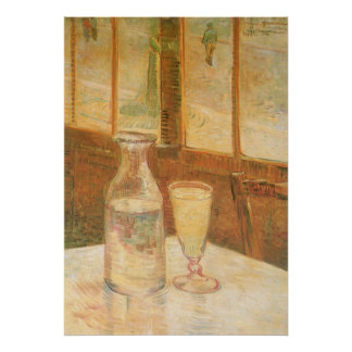 Still Life with Absinthe by Vincent van Gogh Poster