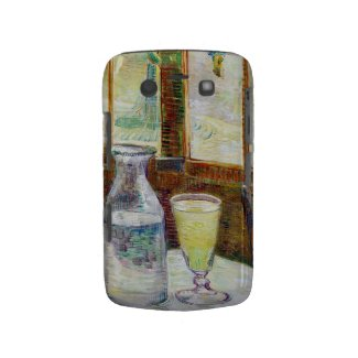 Still Life with Absinthe Vincent van Gogh paint Blackberry Bold Cover