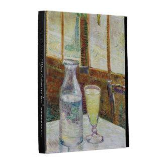 Still Life with Absinthe Vincent van Gogh paint iPad Folio Cover