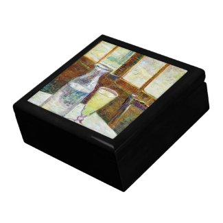 Still Life with Absinthe Vincent van Gogh paint Gift Box