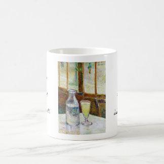 Still Life with Absinthe Vincent van Gogh paint Classic White Coffee Mug