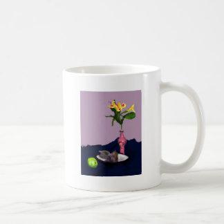 Still Life with Alstroemerias impressionist art Coffee Mug