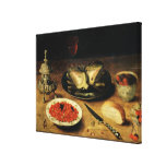 Still Life with an Artichoke Gallery Wrap Canvas