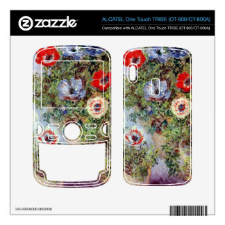 Still Life with Anemones by Claude Monet ALCATEL Tribe Skins