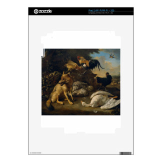 Still life with animals by Melchior d'Hondecoeter Decals For The iPad 2
