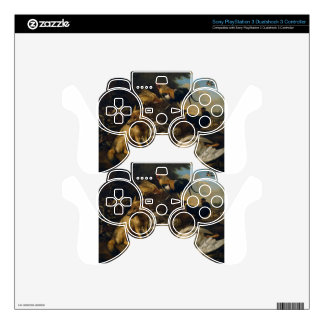 Still life with animals by Melchior d'Hondecoeter Skin For PS3 Controller