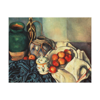 Still Life with Apples, 1893-94 Canvas Print
