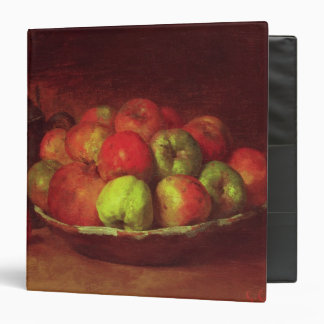Still Life with Apples and a Pomegranate 3 Ring Binder