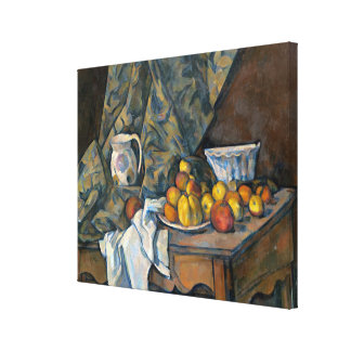 Still Life with Apples and Peaches, c.1905 Canvas Print