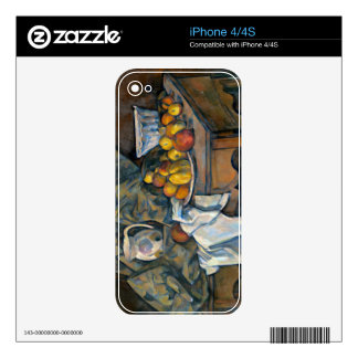 Still Life with Apples and Peaches, c.1905 iPhone 4 Decal