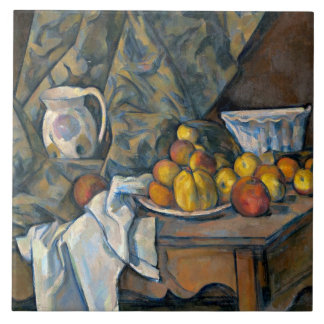 Still Life with Apples and Peaches, c.1905 Tile