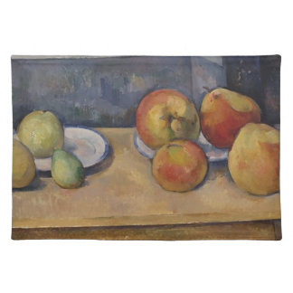 Still Life with Apples and Pears Cloth Placemat