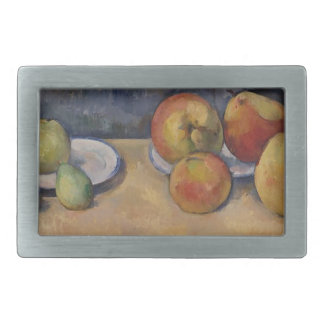 Still Life with Apples and Pears Rectangular Belt Buckle