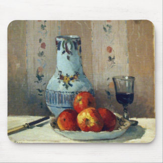 Still Life with Apples and Pitcher - Pissarro Mouse Pad