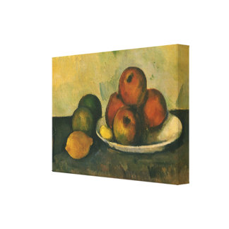 Still Life with Apples by Paul Cezanne Canvas Print