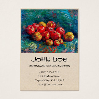 Still Life with Apples by Vincent Van Gogh Business Card