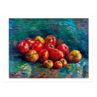 Still Life with Apples by Vincent Van Gogh Postcard