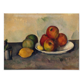 Still life with Apples, c.1890 Poster