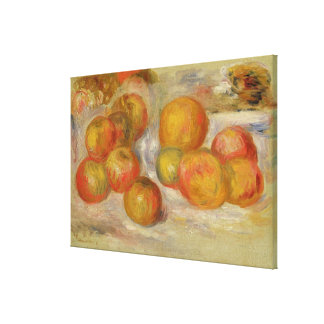 Still Life with Apples, c.1898 (oil on canvas) Canvas Print