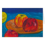 Still Life with Apples Greeting Cards