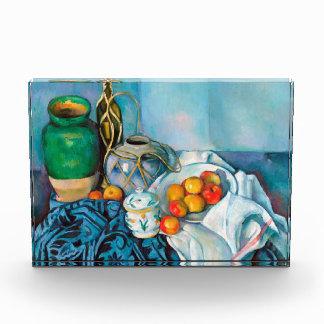Still Life with Apples  Paul Cézanne painting food Acrylic Award