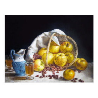 Still Life with Apples Post Card