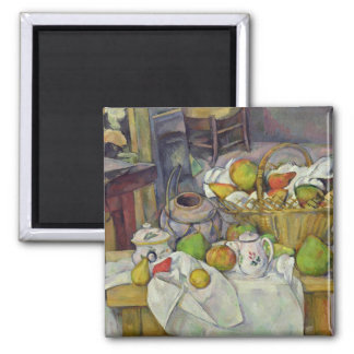 Still life with basket, 1888-90 2 inch square magnet