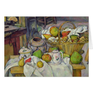 Still life with basket, 1888-90 card
