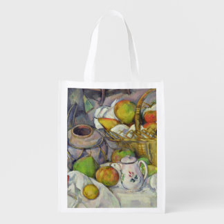 Still life with basket, 1888-90 reusable grocery bag