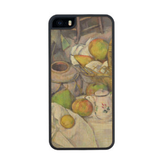 Still life with basket, 1888-90 wood phone case for iPhone SE/5/5s