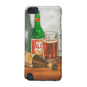 Still Life with Beer by Jennifer Goldberger iPod Touch (5th Generation) Case