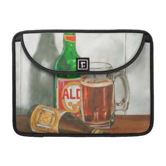 Still Life with Beer by Jennifer Goldberger Sleeve For MacBook Pro